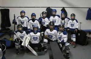 contributed photo The Sartell Squirt C Blue Team is off to a great season with a 4-0-1 record.  They won against Sauk Rapids 10-4 on Nov. 16; against Litchfield 7-3 on and against Willmar 14-0, both on Nov. 22. They tied Buffalo 3-3 on Nov. 23 and beat St. Cloud 13-2 on Nov. 29. They are currently leading their division for the season. Team members include the following: (front row, left to right) Zachary Kantor, Noah Hacker, Bennett Crane and Patrick Crane; (back row) Andrew Ritter, Baylor Stebbins, Sam Lemieur, Blake Legatt, Dylan Chrast and Trey Hilger. Missing on the photo are Bailey and Aidan Woods. The team is coached by Matt Chrast, Troy Stebbins and Ryan Hacker.