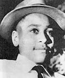 photo from website Emmett Till was only 14 when he was beaten, tortured and shot to death by two white racists in Mississippi in summer 1955.