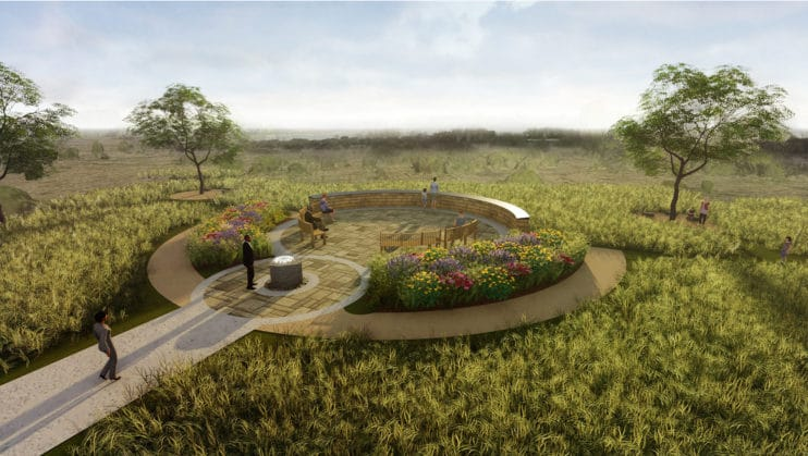 First United Plans Garden Sanctuary