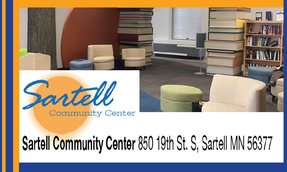 Sartell community center spring guide