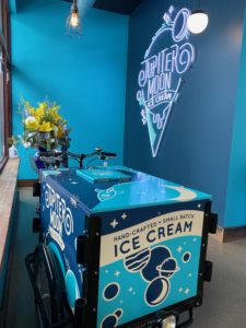 Jupiter Moon Ice Cream bike