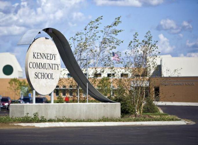 Kennedy Community School sign